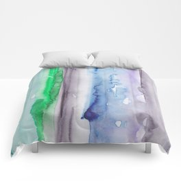 4 | 190907 | Watercolor Abstract Painting Comforters