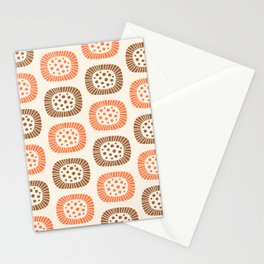 Atomic Sunburst 7 Stationery Cards
