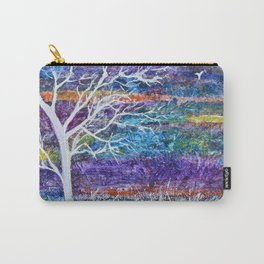 Abstract Tree Landscape Carry-All Pouch