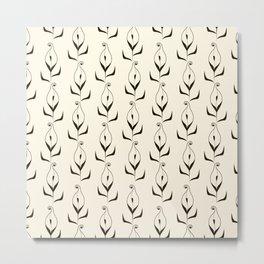 Art Deco No. 47 . Calla . Metal Print