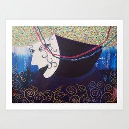 "JC Morgan ""Mardi Gras"" Art Print"