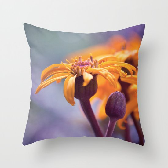 summer magic Throw Pillow