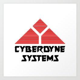 TERMINATOR - CYBERDYNE SYSTEMS Art Print