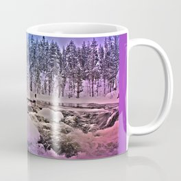 Water mill in Oulanka National Park Coffee Mug