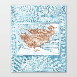 Duck ahoy Canvas Print