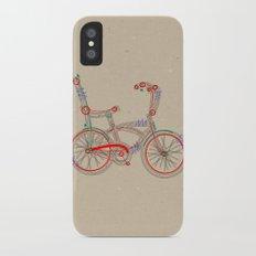 Aztec Bicycle iPhone X Slim Case