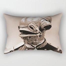 Portrait of Sir Ackbar Rectangular Pillow