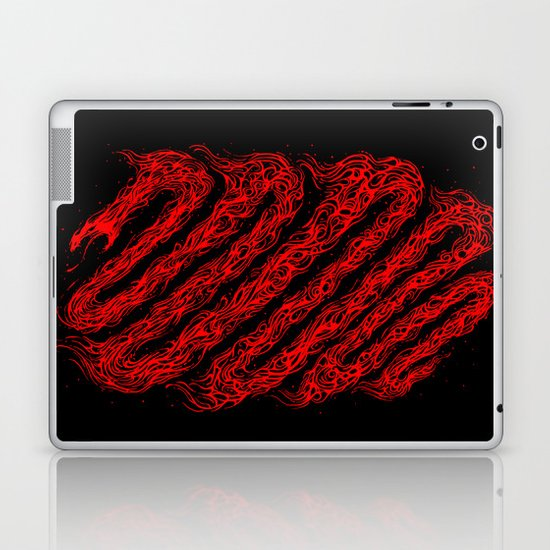 The fire snake Laptop & iPad Skin
