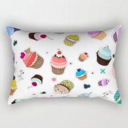 Cupcake Muffin decoration Rectangular Pillow