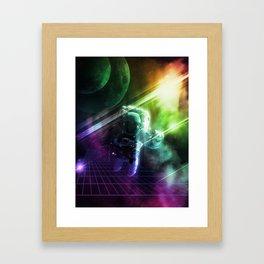Virtual Space Framed Art Print
