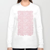 scales Long Sleeve T-shirts featuring Pink Scales by Jessie Prints Stuff