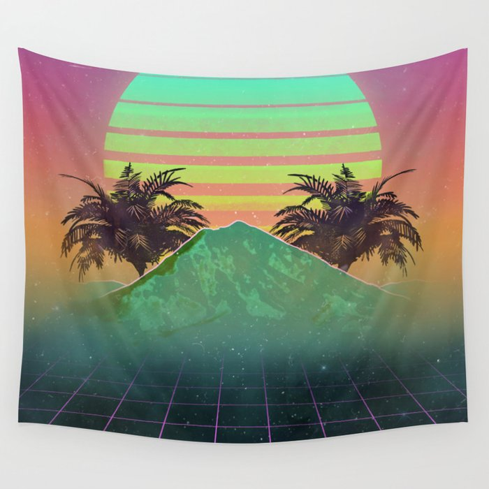 80s love Wall Tapestry