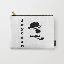 """""""Joycean"""" James Joyce Print Carry-All Pouch"""