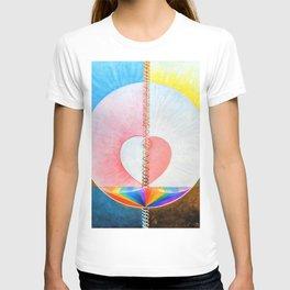 12,000pixel-500dpi - Hilma af Klint - Group IX/UW, No. 25, The Dove - Digital Remastered Edition T-shirt