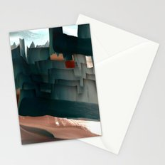 Bad Land Abstract Stationery Cards