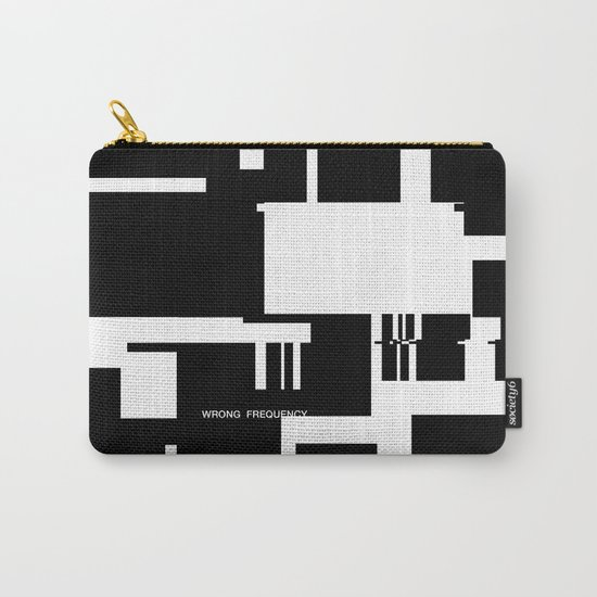 Wrong Frequency Carry-All Pouch
