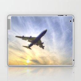Boeing 747 Sunset  Laptop & iPad Skin