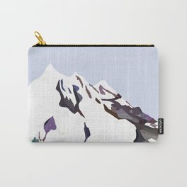 Mountains In The Cold Design Carry-All Pouch