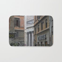 Peeking Pantheon Bath Mat