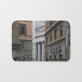 Peeking Pantheon Bath Mat