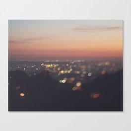 Los Angeles. Everyone's A Star No.2 Canvas Print