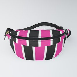 Shifted Illusions - Black and Pink Fanny Pack