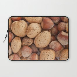 Hazelnuts and almonds Laptop Sleeve