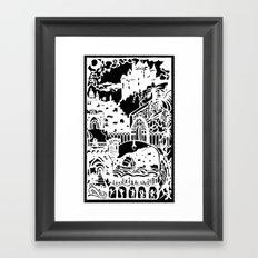 Upon a Dream Framed Art Print
