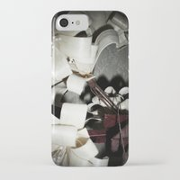 valentine iPhone & iPod Cases featuring Valentine by Françoise Reina