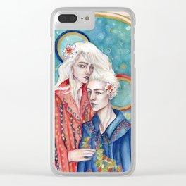 Gemini Clear iPhone Case