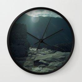 Machu Picchu NO2 Wall Clock