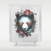 warrior Shower Curtains featuring Warrior by Tracie Andrews