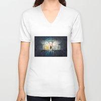 agent carter V-neck T-shirts featuring carter by 3e3e