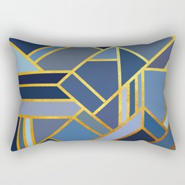 Art Deco Drops Of Jupiter Rectangular Pillow