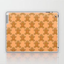 Brown Gingerbread Men Laptop & iPad Skin