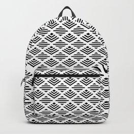 LUNA DIAMOND BLCK AND WHITE Backpack
