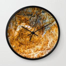 Leonardo da Vinci Deluge Wall Clock