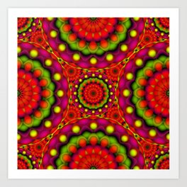 Psychedelic Visions G147 Art Print