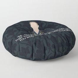 The Final Problem - John Watson Floor Pillow