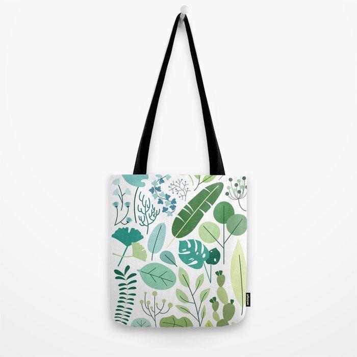 Botanical Chart Tote Bag