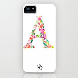 monograms - A iPhone Case