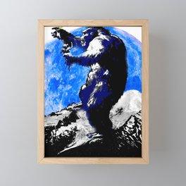 KING KONG: I'M PRETTY SURE IT'S LOVE! Framed Mini Art Print