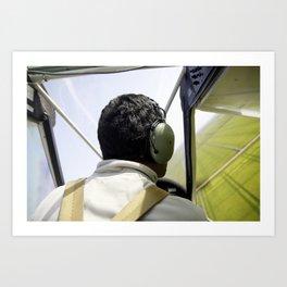 On the Air Art Print