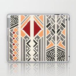 Tribal ethnic geometric pattern 034 Laptop & iPad Skin