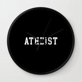Atheist Anti Religion Wall Clock