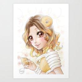 Baumkuchen Art Print