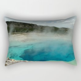 The Emerald Pool Colors Rectangular Pillow