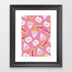 Pattern art design Framed Art Print