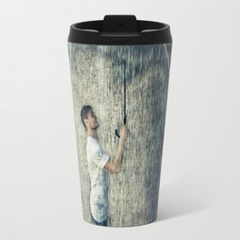 umbrella cloud Travel Mug