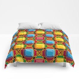 Pattern with diamonds Comforters